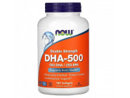 DHA 500 NOW Foods (180 капсул)