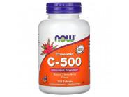 C-500 (ascorbate) NOW Foods (100 вег капсул)