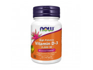 Vitamin D3 2000 IU NOW Foods (30 капсул)