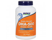 DHA 500 NOW Foods (90 капсул)