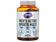 Men's Active Sports Multi NOW Foods (180 капсул)