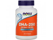 DHA 250 NOW Foods (120 капсул)