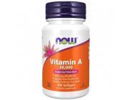 Vitamin А 25 000 IU NOW Foods (100 капсул)