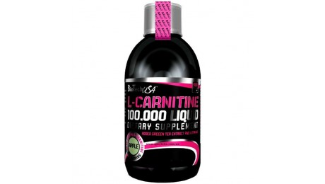 L-CARNITINE 100.000 LIQUID BioTech USA 500мл