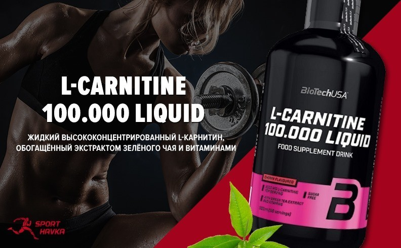 L-CARNITINE 100 000 LIQUID BIOTECH USA